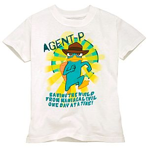 Phineas and Ferb Agent P Tee for Boys