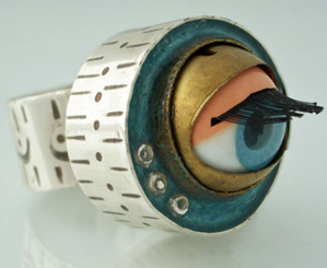 Blinking Eye Ring from GingaSquid by busybee