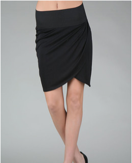 Bruna Silk Jersey Skirt