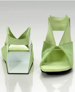 Flat Folded Origami Shoe