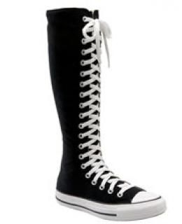 Knee High Sneaker Boots
