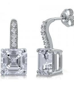 Cubic Zirconia Dangle Earrings