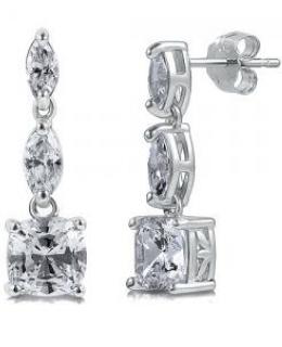 Marquise CZ Dangle Earrings