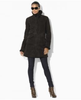 Women's Outerwear: Shearling Coat