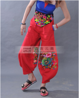 Chinese nationality wind trousers