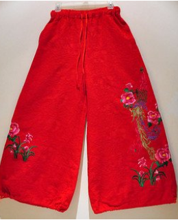 National style trousers