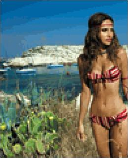 SHE Beachwear Kristina Bandeau Top Bikini