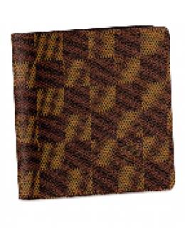 Louis Vuitton Damier Ebene Canvas Men's Wallet N61666 -$86