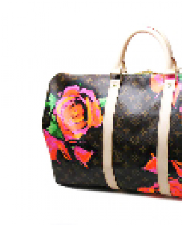 Louis Vuitton Stephen Sprouse Keepall 50 Roses M48605
