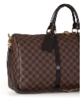 LOUIS VUITTON DAMIER EBENE CANVAS KEEPALL 50 N41427