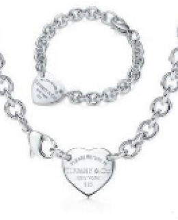 RETURN TO TIFFANY HEART TAG CHOKER SET