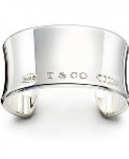 Tiffany & Co.1837 Collection Wide Cuff Bracelet