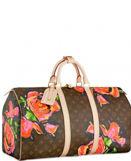 Louis Vuitton Stephen Sprouse Keepall 50 Roses M48605 -$198.00
