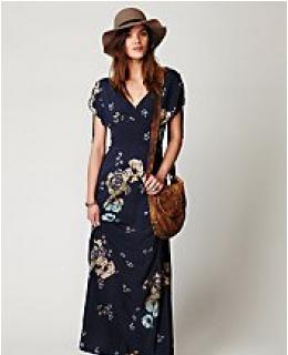 Printed Dresses- Stardust Maxi Dress