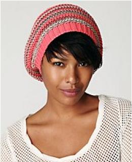 Hats & Beanies- Free People Multi Stripe Beret