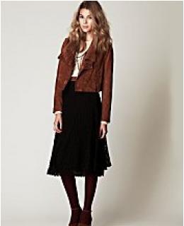 Midi Skirt- Tea Length Crochet Skirt