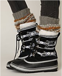 Weather Boots- Pac Graphic Weather Boot