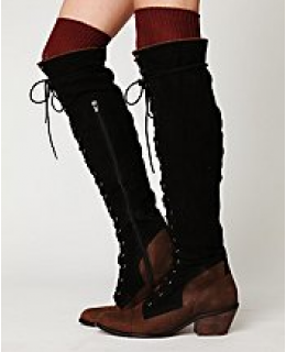 Tall Boots- Joe Lace Up Boot