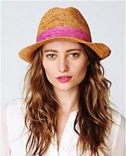 Structured Hats- Star Straw Fedora