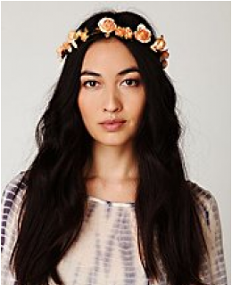 Headpieces- Mulberry Rose Crown