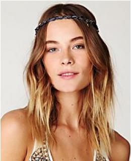 Hair Accessories- Suede & Chain Headband