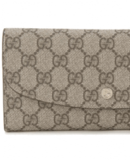 Gucci Checkbook Wallet for Women Coral