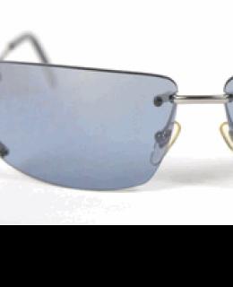 Moschino Blue Frameless Sunglasses