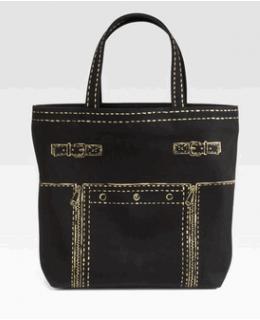 YSL Trompe Downtown Tote Handbag Unisex