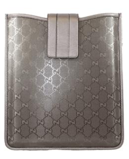 Gucci iPad Case Imprime Leather Purple
