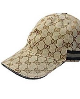 Gucci Baseball Cap Brown Jacquard Logo