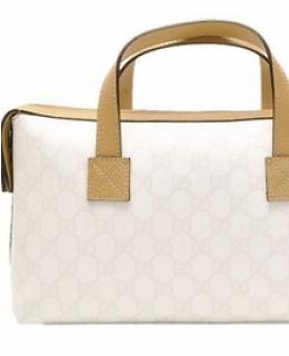 Gucci Ivory Plus Boston Bag