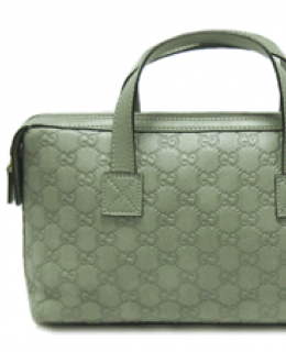 Green Gucci Boston Bag