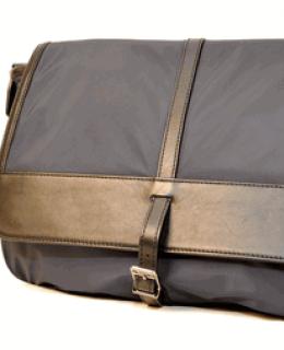 Burberry Navy Messenger Bag