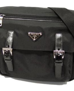 Prada Tessuto Pocket Messenger Bag