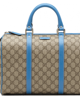 Gucci Blue \'Joy\' Boston Bag