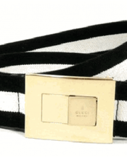 Gucci Web Canvas Belt