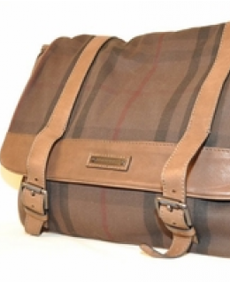 Burberry Brown Borsa Crawford Messenger Bag