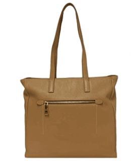 Prada Caramel Vitello Daino Tote