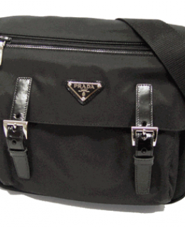 Prada Tessuto Pocket Messenger Bag