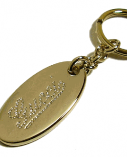 Gucci Script Key Chain 