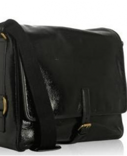 Yves Saint Laurent Besace Manhattan Flap Laptop Breifcase Messenger Bag