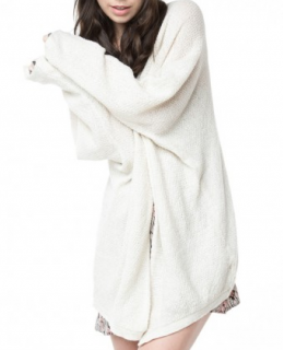 Cream Caroline Knit Cardigan
