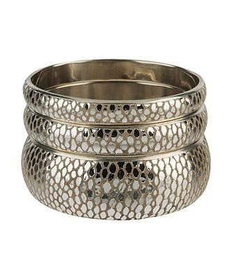 Metallic Spot Suede Bracelet