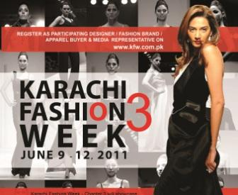 Model Hunt for Karachi Fashion Week 2011