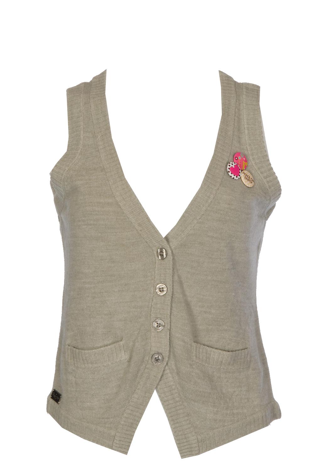 Raindrop Knit Vest by Just Add Sugar